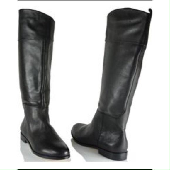 acb345bdb5e Cynthia Vincent Tessa Riding leather Knee boots