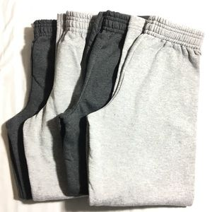 Hanes Other - Boy's NWOT 4 pairs of sweatpants with pockets