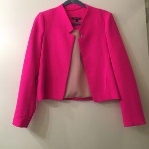 Necessary Objects Jackets & Blazers - Hot Pink Blazer