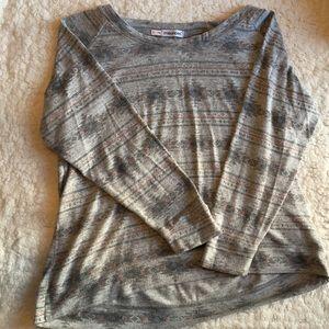 Maurices Tops - Maurice's Aztec print sweatshirt