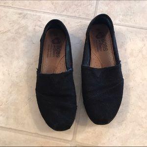 Black BOBS slip on shoes