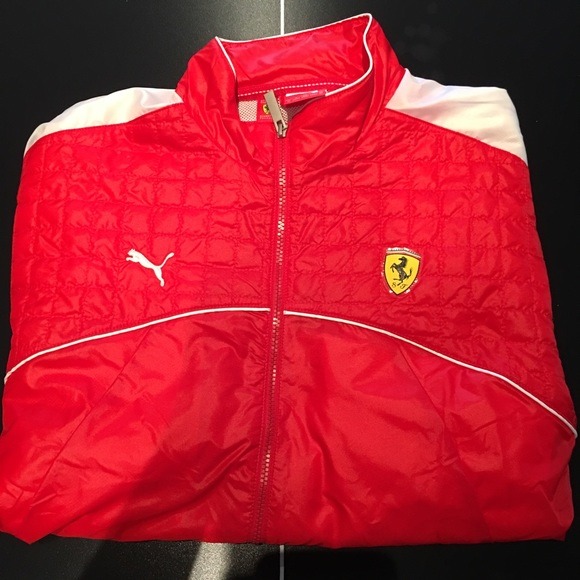 Puma Ferrari Performance Jacket - Men's Size XL