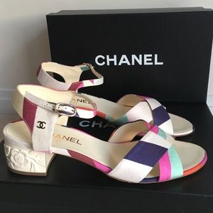 Brand new Chanel sandals