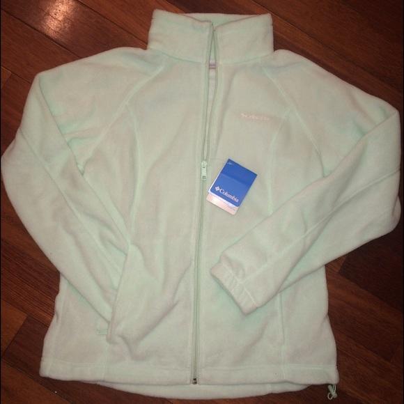 445867768af NWT Columbia Benton Springs Full Zip Fleece Jacket