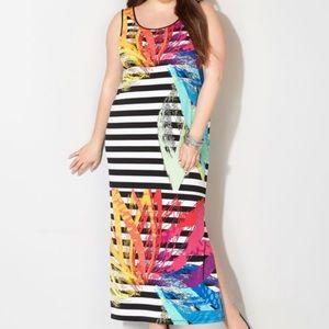Dresses & Skirts - Plus sz knit maxi dress 22/24