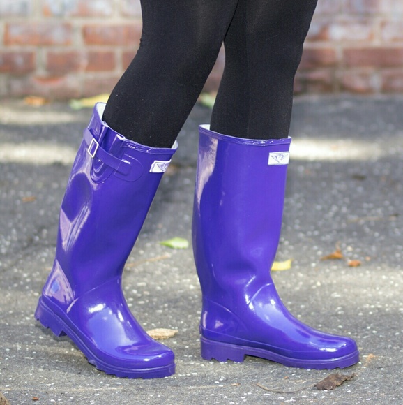 aa551bbdfb9b Forever Young Shoes | Women Knee High Rainboots 3106 Navy | Poshmark