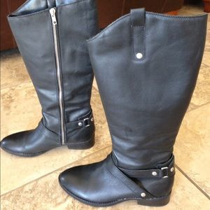 other Shoes - Black leather riding boots – size 8 1/2 medium