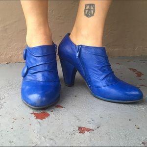 Miz Mooz Shoes - Electric Blue MIz Mooz Booties