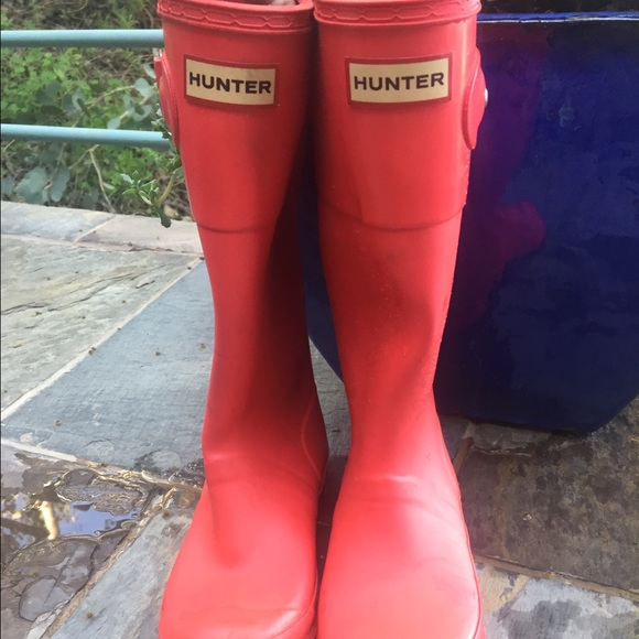 83% off Hunter Shoes - Women/girls Hunter boots size 6 from ...