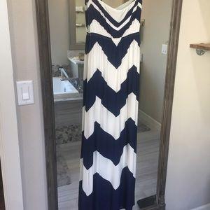 MM Couture Dresses & Skirts - Chevron Maxi Dress