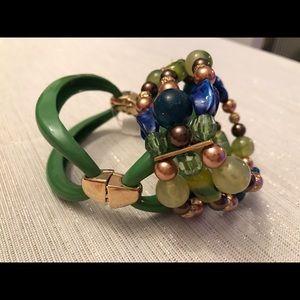 kohls Jewelry - Two expandable green colored bracelets!