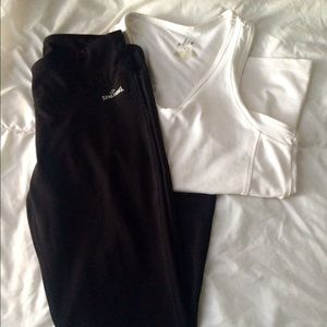 spalding Other - Yoga pants and top