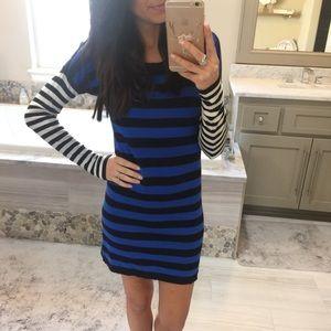 Express Dresses & Skirts - Express Stripe Sweater Dress