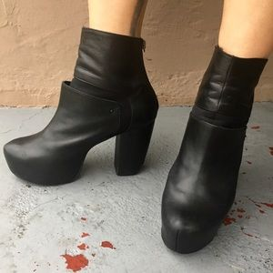 Miista Shoes - Well Loved Miista Leather Booties