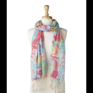 LIMITED EDITION Lilly Pulitzer Murfee Scarf cape