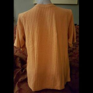 Men's Orange Bachrach Short Sleeve Shirt