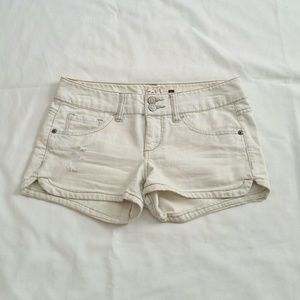Pants - Light Wash Denim Shorts