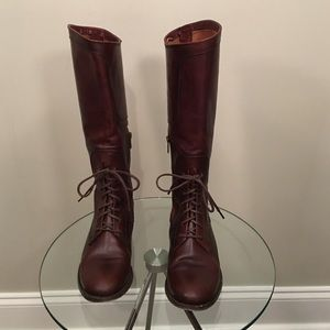 Frye Shoes - FRYE Melissa Lace Up Riding Boot