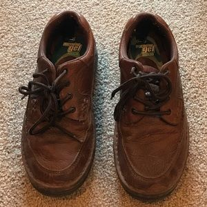 Dr. Scholl's Other - Dr Scholl's brown men's loafers size 7.5 med