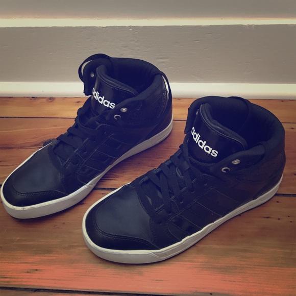 adidas donne bbneo raleigh metà scarpa 9 poshmark basket