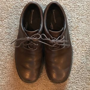 Rockport Other - Rockport leather men's brown loafers size 7.5