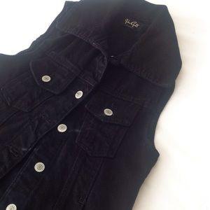 Brandy Melville Jackets & Blazers - John Galt for Brandy Melville Denim Vest, Size XS