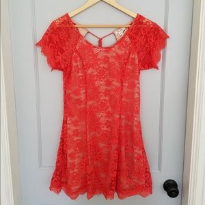 Modcloth lace tunic blouse!