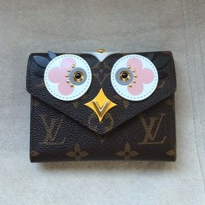 Limited Edition LV Victorine Wallet Owl