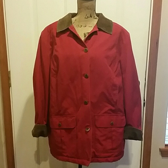 80% off LL Bean Jackets & Blazers - Super warm LL Bean barn coat ...