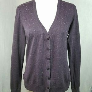 Merona Purple Cardigan