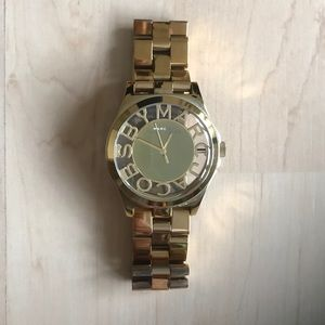 Gold Marc by Marc Jacobs watch