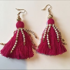 LAST CHANCEH & M tassel earrings