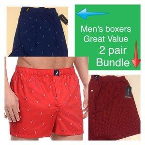 Nautica Other - Men's nautica boxer bundle