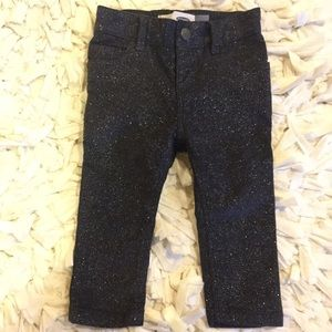 Old Navy Other - ON grey glittery skinnies