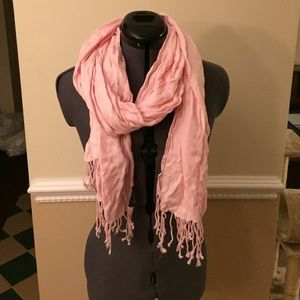 Ashley Cooper Accessories - Light Pink Soft Scarf