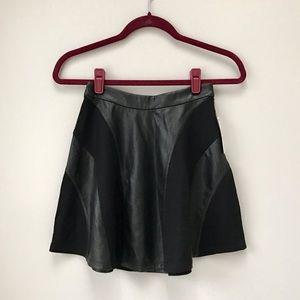 Jessica Simpson Dresses & Skirts - Faux Leather Skater Skirt👽