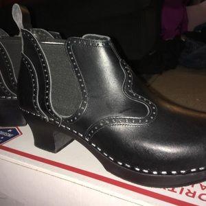 Swedish Hasbeens Shoes - Swedish Hasbeens Victorian Bootie