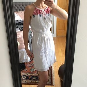 Old Navy Dresses & Skirts - Old Navy Red, Blue, and White Halter Dress
