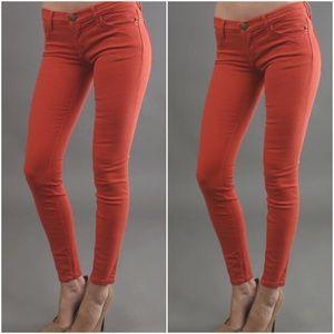 CURRENT/ELLIOTT Ankle Skinny jean Poppy size 28