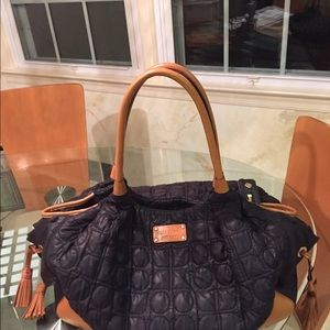 Kate Spade leather and quilted bag