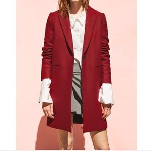 ⭐️Zara burgundy coat