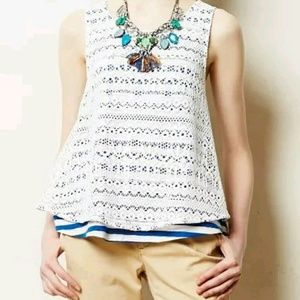 Anthropologie Tops - Anthropologie Postmark tank