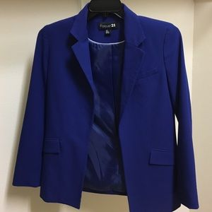 Blue Blazer from Forever 21