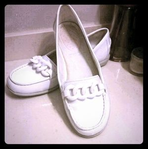 Not Just For Spring/Summer White Rockport Loafers