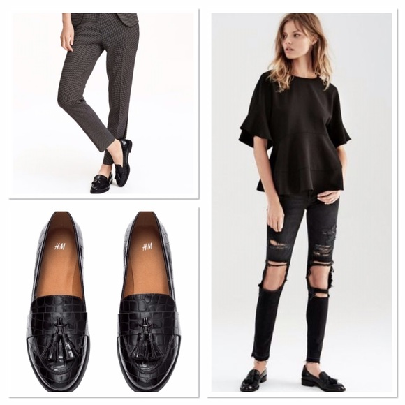 H\u0026M Shoes   New H M Black Patent