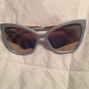 Le Spec matte glacier sunglasses