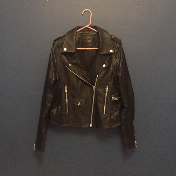 Blank NYC Jackets & Blazers - BLANKNYC 'Easy Rider' Faux Leather Moto Jacket