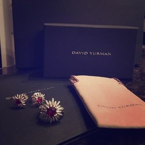David Yurman Starburst Garnet SET