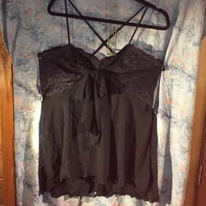 Torrid Size 2 Strappy Lace Nightgown EUC