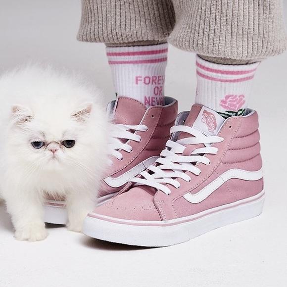 VANS Sneaker 'Sk8-Hi' pastellpink / weiß Rabatt Bestseller fpAhrH8ny